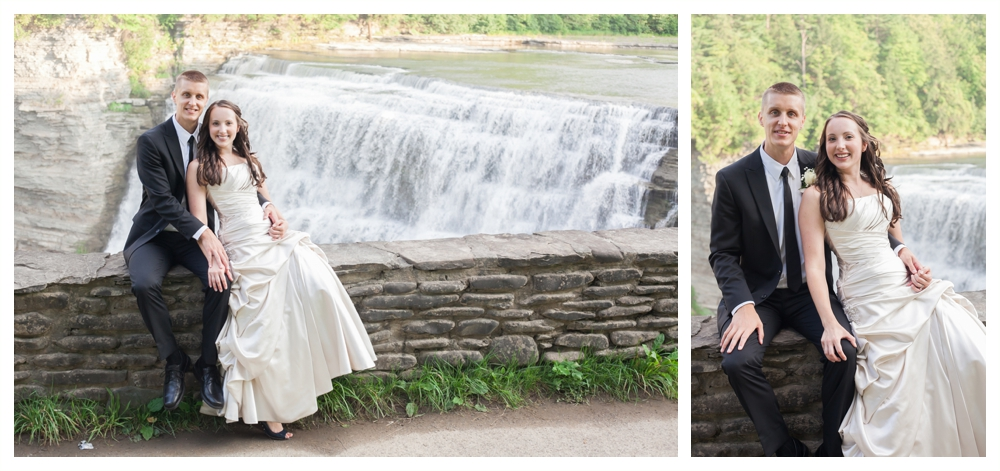 Priscilla Aarons Letchworth State Park Wedding